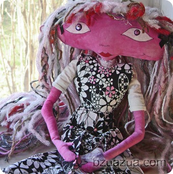 See Dolls in the Quilt & Fiber Arts Shop